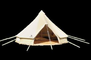 Bell Tent 19.5 kvm, rundt, 5m i diameter